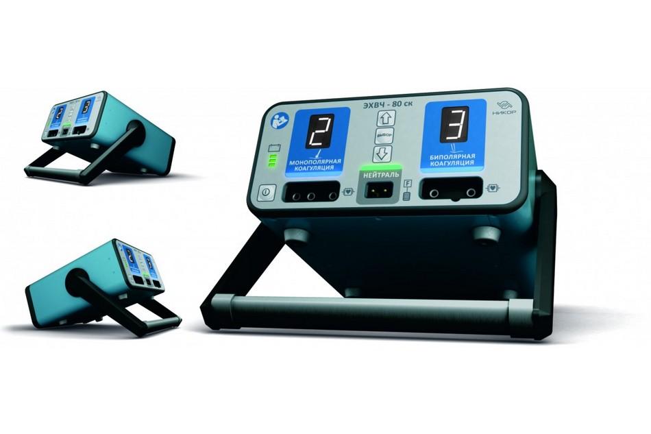 Электрокоагулятор ЭХВЧ-80 ск-НИКОР, комплектация для стоматологии